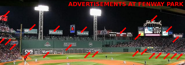 fenway outfield ads