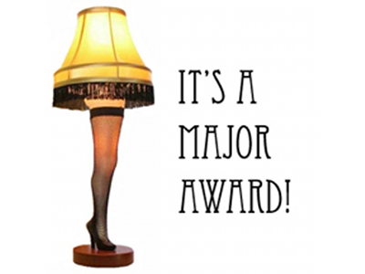 major award leg lamp trophy