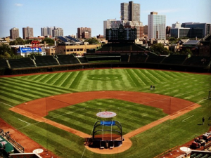 wrigley field featured
