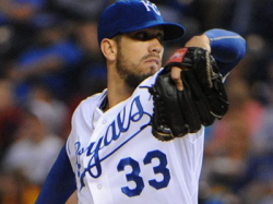 Report: Royals Not Likely to Re-Sign James Shields