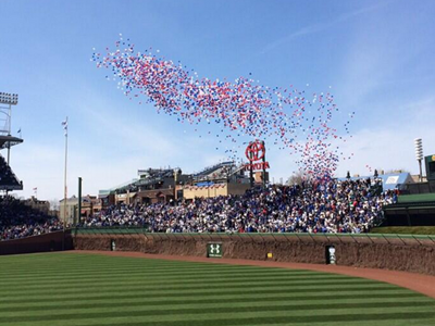 wrigley party balloons celebration