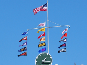 scoreboard standings flags