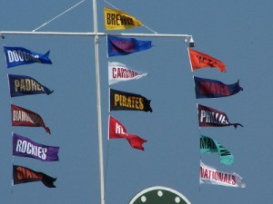 standings flags central