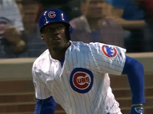 jorge soler watching ball go
