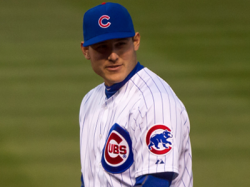 Anthony Rizzo's Heads Up Double Play Last Night (VIDEO)