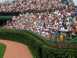 BT at BP: Attendance with Full Bleachers Strong for the Cubs
