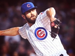 Jake Arrieta Basically Dares Batters to Swing Early Against Him