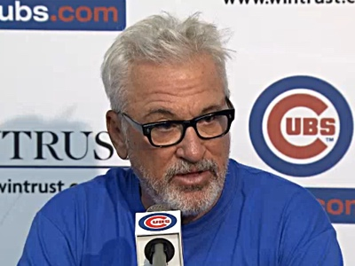 joe maddon speaks