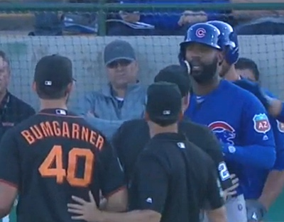 heyward and bumgarner