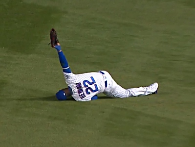 jason heyward catch glove fall
