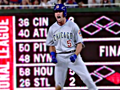 albert almora scream pumped