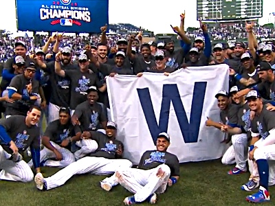cubs-champions-win-flag-celebrate