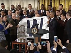 WATCH: The World Champion Chicago Cubs Honored at the White House