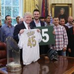 Cubs Visit President Trump at the White House