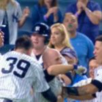 BIF: Aaron Judge Lost Part of His Tooth in the Yankees Walk-Off Celebration Last Night