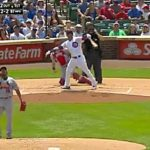 Willson Contreras Stays Blistering Hot, Crushes First Inning Homer (VIDEO)