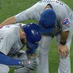 Kris Bryant Leaves Game After Being Hit in Hand by Pitch, X-Rays Negative