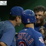 Kyle Schwarber and Tommy La Stella Go Deep, Ian Happ Has Some Dugout Fun (VIDEOS)