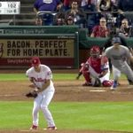 BIF: Phillies Pitcher Nick Pivetta Catches a Come-backer Inside His Jersey!
