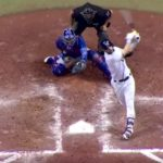 Willson Contreras is So Fast He Catches Foul Tips with His Throwing Arm (VIDEO)