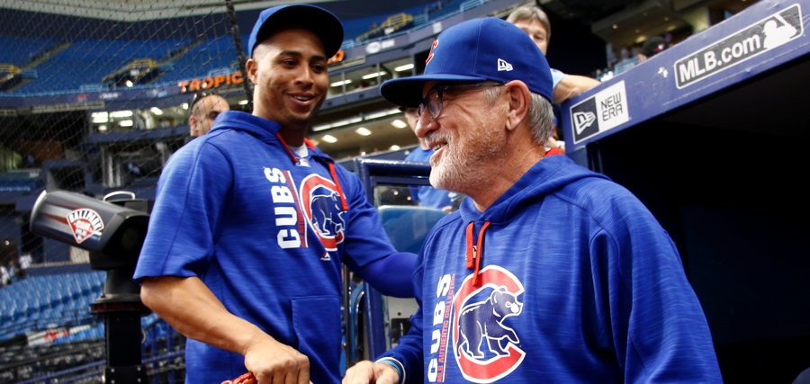 Joe-maddon-cubs-in-tropicana-dugout-photo-by-brian-blancogetty-images