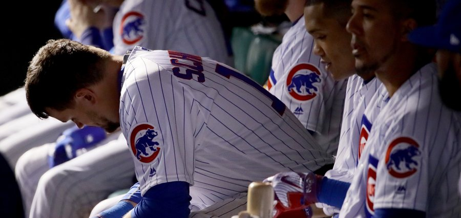 Kyle-schwarber-cubs-dugout-sad-photo-by-jonathan-danielgetty-images