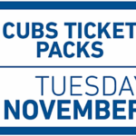 Cubs 8 and 14-Game Ticket Packs Go on Sale Next Week