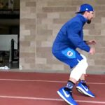 Kyle Schwarber Looks Thin and Agile (VIDEO)