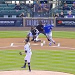 Javy Baez Just Went Oppo in Colorado Like He Did in His Big League Debut! (VIDEO)