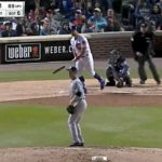 Kyle Schwarber Provides the First Offense of the Game with This Blast! (VIDEO)