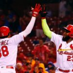 MLB Also Told Cardinals Players They Had to Ditch Their Sleeves (But Not Marcell Ozuna's Neon One)
