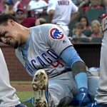Javy Baez Leaves Game After Being Hit in the Elbow (UPDATES: Maddon Sounds Optimistic, but X-Rays Coming)