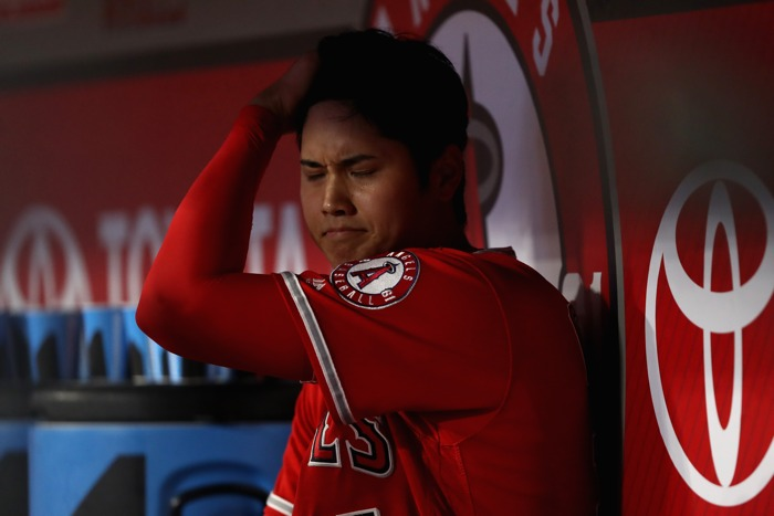 Shohei Ohtani hits the DL with elbow injury scare