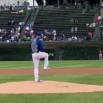 Drew Smyly Threw a Simulated Game at Wrigley Field Today