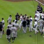 Shameful: Benches Clear After Marlins Drill Ronald Acuña Jr. With Their Very First Pitch