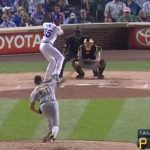 Cole Hamels Just Crushed a 437-Foot BOMB to Center Field (VIDEO)