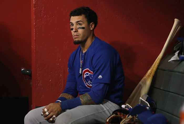 Cubs' Russell placed on leave after domestic violence claims