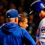 Kris Bryant Not Expected to Play Today After Being Hit on the Wrist Last Night