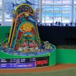 BIF: Derek Jeter Declares War on Fun, By Moving the Marlins Home Run Sculpture Out of the Stadium