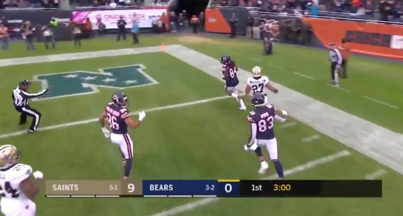 Needed That: Cordarrelle Patterson Delivers the First Bears Kickoff Return for a TD Since 2014!
