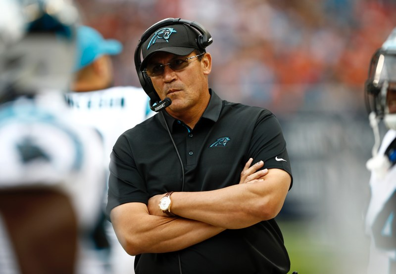 Carolina Panthers Head Coach Ron Rivera Has Just Been Fired