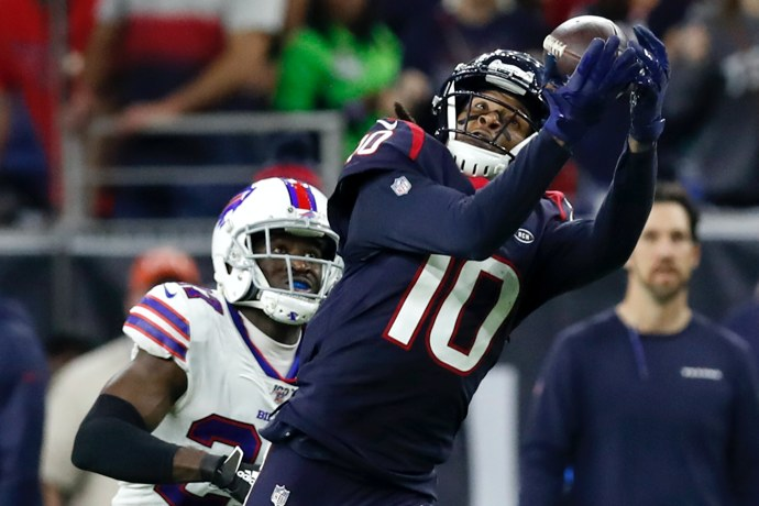 Texans trading DeAndre Hopkins to Cardinals for David Johnson
