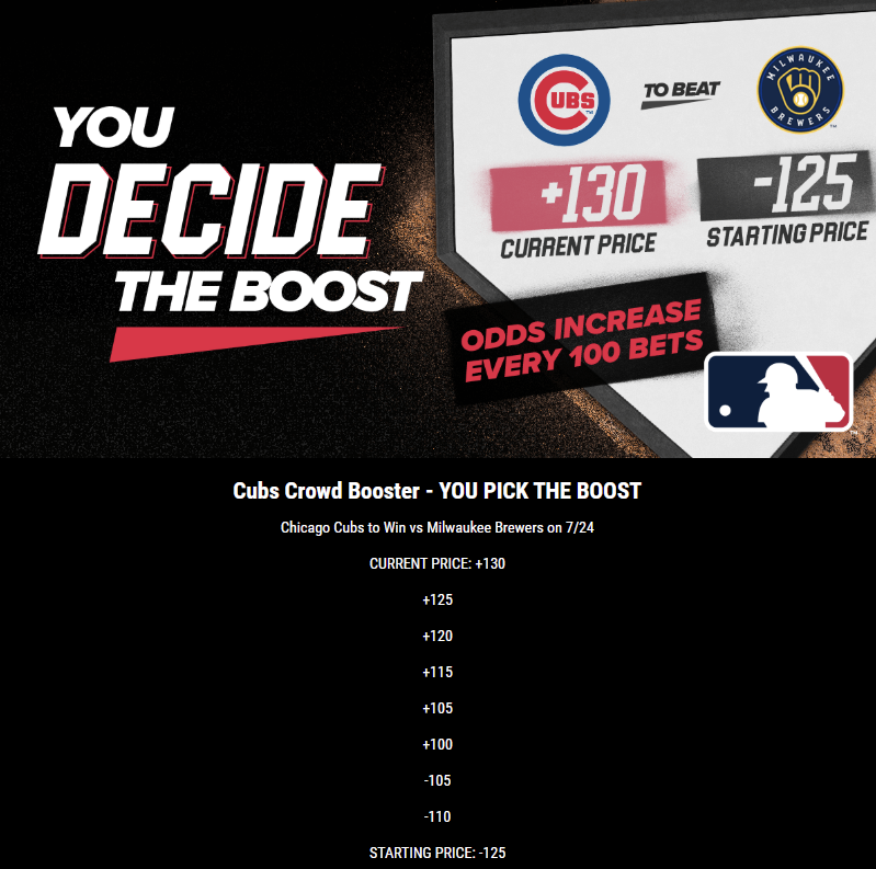 pointsbet indiana cubs boost