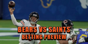 bears saints odds pick prediction